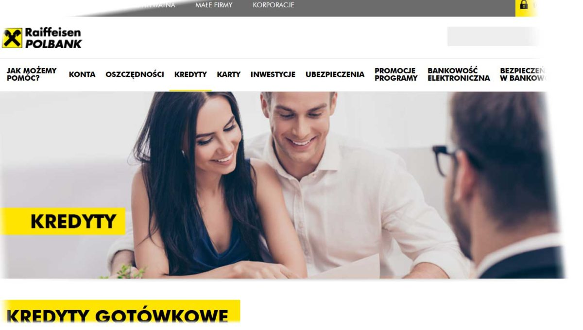Kredyt gotówkowy Raiffeisen Bank